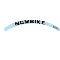 NCM Bikes rim sticker 26 inch Prague [White]