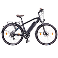 NCM Venice Trekking E-Bike, City-Bike, 250W, 48V 13Ah 624Wh Battery, [Black 28]