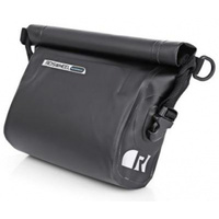 ROSWHEEL Handle bar bag, compact, L27,H21.5,W9cm waterproof w/removable shoulder carry strap.velcro attach