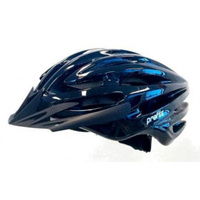 HELMET Profile, Double In-mould, Full retention ring for greater comfort, Dial Fit System, Medium/Large (58-62cm) ALL BLACK *Top Quality*