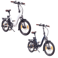 NCM Paris+ Folding E-Bike, 250W, 36V 19Ah 684Wh Battery, Size 20""