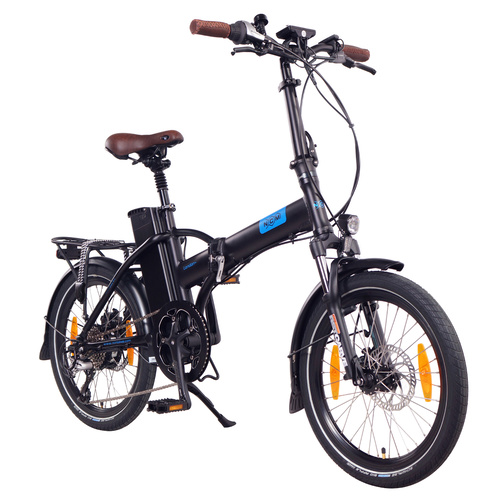 NCM London+ Folding E-Bike, 250W, 36V 19Ah 684Wh Battery,[Black 20]